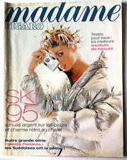 Madame Figaro 14/01/1995; Ski/ Les meilleurs instituts de beauté/ Planète femme