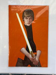 Star Wars # 7 JTC Luke Skywalker Negative Space Variant Marvel NYCC Ltd 4000