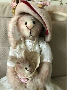 Rabbit Mother and Child by Cindy McGuire for China Cupboard Bears