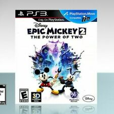 Disney Epic Mickey 2: The Power of Two - PS3 - NEW - SEALED - Playstation Move
