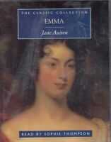 Emma Jane Austen 2 Cassette Audio Book Sophie Thompson Abridged FASTPOST