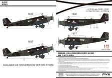Owl 1/72 Junkers Ju-52/3m Nachtbomber (Hajo Herrmann) # S7257