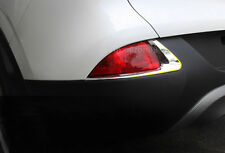 For Renault Kadjar 2015 - 2017 ABS Chrome Rear Fog Light Decoration Stripe Trim