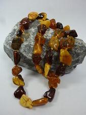 Bernstein Halskette / Kette 62 cm, 46,8 Gramm - Necklace amber
