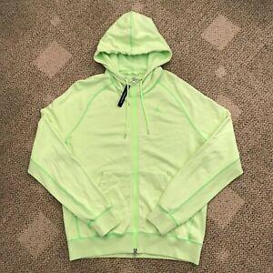 Nike Air Washed Wings FZ Hoodie Sweatshirt Jacket Ghost Green Size Large