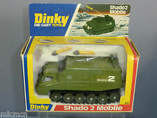 "DINKY TOYS No.353 SHADO 2 MOBILE  "" GREEN VERSION ""    MIB"