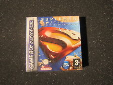 GAME BOY ADVANCE SUPERMAN RETURNS LA FORTEZZA DELLA SOLITUDINE GIOCO NINTENDO