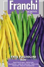 Semi / Seeds TRIS FAGIOLINI NANI - 100gr.