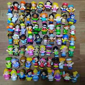 Lot of 15PCS Random Fisher Price Little People Figures Toys- No Repeat