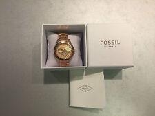 Neu Fossil Damen Uhr Metal Rose Gold ES2859 Women Watch Metal mit Garantie ausAT