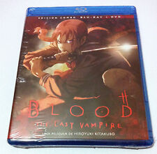 BLOOD THE LAST VAMPIRE - EDICION COMBO BLURAY + DVD - NEW & SEALED - NUEVA