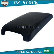 Fits For 2012-2017 Toyota Camry Leather Center Console Lid Armrest Cover Black
