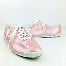 LA Gear Vintage Pink Metallic Lace Up Womens Shoes Sneakers 90s Street Wear 7.5