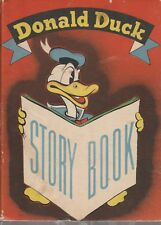 1937 Whitman Cardboard cover, Donald Duck Story Book #507 Very Rare.