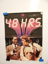 """48 HRS"" Eddie Murphy and Nick Nolte 1982 Vintage Movie Poster"