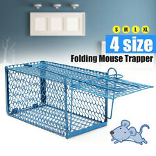 Small Live Animal Cage Mouse Trap Rat Rodent Hamster Catch Control Bait