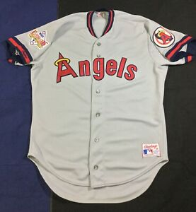 Vintage 80's Angels Baseball All Star Game 1989 Rawlings Jersey Size44