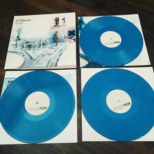 RADIOHEAD, OK COMPUTER  OKNOTOK  1997  2017, LTD 3 LP BLUE OPAQUE COLOR (SEALED)
