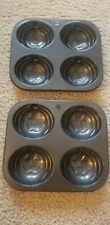 Muffin Pans.Lot Of 2 Pumpkins