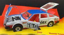 Corgi – 340 – Rover Triplex – White & Blue - 1981 – Made in GB –Box not 100%