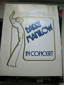 BARRY MANILOW 1978  concert program