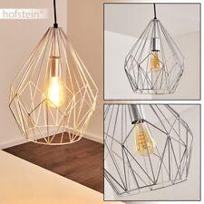 Lampe à suspension Retro Lustre Plafonnier Lampe pendante Lampe de séjour Acier