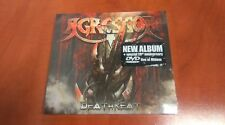 "AGRESSOR  ""DEATHREAT"" ALBUM CD DIG. WITH BONUS DVD NEW SEALED"