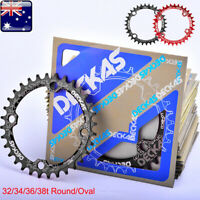 DECKAS 32/34/36/38T 104bcd MTB Bike Narrow Wide Chainring Round Oval Chain ring
