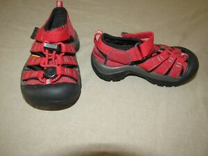 Keen Boys Sandals RED Size 8 Toddlers
