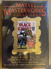 Marvel Masterworks Black Knight variant black gold foil VERY RARE OOP 1136 print