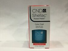 Creative CND Nail Shellac ~ CERULEAN SEA  ~ Soak Off Gel Polish .25 oz