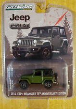 Greenlight Collectibles Anniversary Collection Series 3 2016 Jeep Wrangler Green
