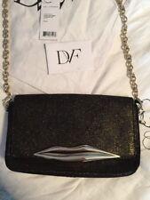 Diane von Furstenberg/DVF Flirty Mini Stardust LIPS X-body Bag Clutch $250