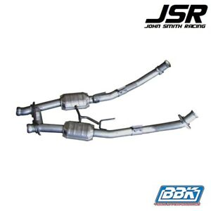"94-95 Mustang 5.0 GT & Cobra BBK 2-1/2"" High Flow H Pipe W/ Converters"