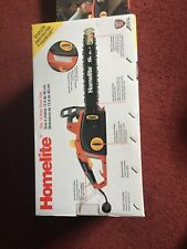 """HOMELITE UT43120-A 12 AMP CORDED ELECTRIC 16"""" CHAINSAW"""
