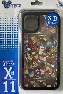 DISNEY PARKS D-TECH DISNEY SNACKS 3D IPHONE Xr 11 CASE