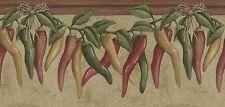 KITCHEN HOT CHILI PEPPER Wallpaper Border 5811943
