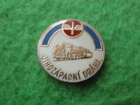 Badge pin South-west train track czech republic GB2