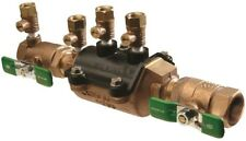 Double Check Valve Assembly Potable Water Line Backflow Preventer Lead-Free 1 in
