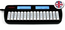 Japcell BC1600 battery charger - 16 slots for AA/AAA NiMH rechargeable batteries