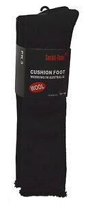 Bulk 3 Pairs Knee High Wool Work Socks Size 7-11 & 11-14