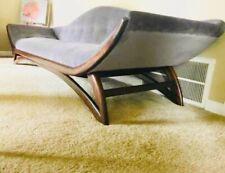Sofa, Adrian Pearsall mid-century modern designer Gondola unique sofa.