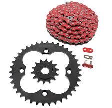 Orange Drive Chain and Sprockets Kit Fits HONDA TRX400EX SporTrax 400 2X4 99-04