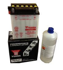 Batteria Originale Yuasa YB14L-A2 + Acido 1lt Piaggio X9 500 Evo 04 07
