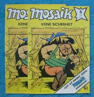 MOSAIK Abrafaxe Nr. 5 von 1990 FEHLDRUCK >größer< SELTEN Junge Welt DDR RAR Z0-1