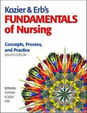 Kozier & Erb's Fundamentals of Nursing, 8th Edition by Erb includes CD