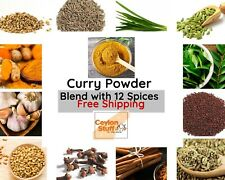 Curry Powder Original Ceylon Organic Thuna Paha 12-Spices Blend Ceylon Stuff