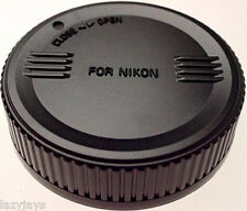 SIGMA REAR LENS CAP NIKON MOUNT LENSES (NEW)