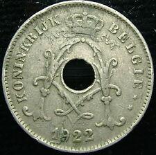 1922    Belgio Belgique Belgie    10 centesimi   centimes