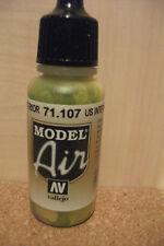 Pintura Para Aerógrafo Modelo Vallejo Aire Painting Supplies Amarillo Oscuro Val025 Crafts